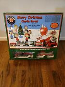 Peanuts Merry Christmas Charlie Brown Lionel O Gauge Toy Train Set