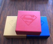 2014 Rcm Superman Iconic Covers .9999 Fine Silver 3 Coin Collection