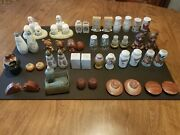Vintage/antique Salt And Pepper Shaker Collection - 110 Pairs Read