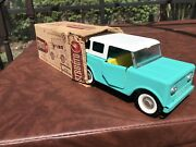Vintage Structo International Harvester Scout With Box