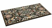6and039x3and039 Marble Coffee Table Inlay Semi Precious Stone Home Garden Decor