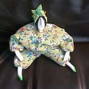 Vintage 1998 Rare French Poupee Millet Doll Grape Hat Signed And Dated By Serg