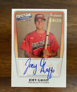 2011 Bowman Perfect Game Joey Gallo Aac-jg - Auto - Autograph - Rc - /235