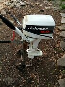 1993 Johnson 4.0hp Deluxe S.s Outboard Motor