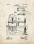 Universal Joiner Patent Print Old Look