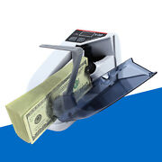 Handheld Bill Cash Money Register Currency Counter Portable Counting Machine