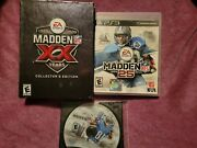 Madden 09 Nfl Xx 2009 Collector's Edition Head Coach 09 Ps3 And Madden 13 And 14