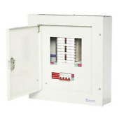 Metal 3 Phase Distribution Board 16 Way 3p Ways + 125a Incomer + Mcband039s Tpn16125