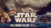 New Toys R Mighty Beanz Star Wars Millennium Falcon Collector Case And 2 Exclusive