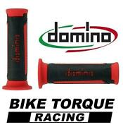 Ducati 996 / 996s / Sps Black / Red Domino Turismo Handle Bar Grips