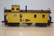 Mth Duluth Missabe And Iron Range Steel Caboose Model 20-91015