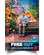 Free Guy Wall Art Decor Home Poster Full Size