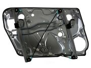 Power Window Regulator Assembly-wo/motor With Door Panel Front Right Fits Passat