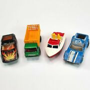 Vintage Matchbox Lesney Superfast Lot Of 4 1970s Diecast Cars Collectibles