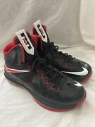 Nike Lebron James 2012 Flywire Forged Mmiii Shoes Sneakers Size 12 Heat Redblack