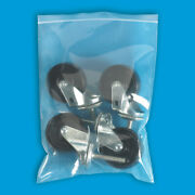 Resealable Poly Bag 10 X 12 5000 Pack 8 Mil Clear Lock Seal Zipper Bags