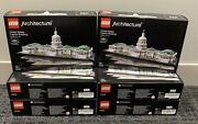 Lego Architecture United States Capitol Building 21030 New Factory Sealed