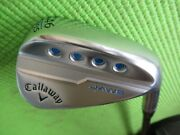 Very Nice Callaway Md5 Jaws 46 P Pitching Wedge Sub Iron Sets 2 Flat
