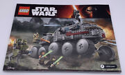 Lego Star Wars 75151 Clone Turbo Tank Instruction Manual Booklet Only