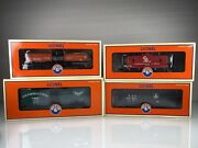 Rolling Stock Only - Lionel 6-30025 Chesapeake Ohio Super Freight Cars Set O