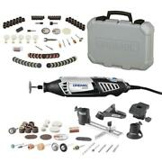 Dremel Rotary Tool Accessory Kit 130-piece With 4000 Series 1.6 Amp Variable