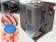 90mm Qsj-t Table 3mm Shredded Meat Cutting Machine 110v Double Blade And Motor