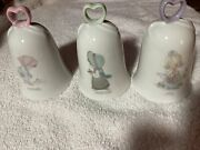 Enesco Precious Moments Collection Bell-july December And February Picnic Grounds