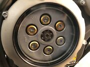 Aprilia Shiver 750 Clear Clutch Cover Kit 08-12 Gold And Silver Screws