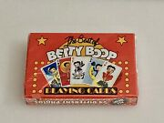 The Best Of Betty Boop - King Features - 54 Photos - Playing Cards - Sealed Box