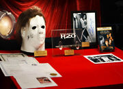 Halloween Prop Knife H20, Signed Jamie Curtis Autograph And Mask, Coa, Script, Dvd
