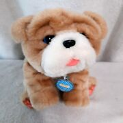 Little Live Pets My Kissing Puppy Rollie Plush Dog Bulldog Interactive Works