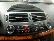 2003 Mercedes Benz E320 Climate Control With Panel And Air Vent