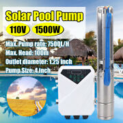 4and039and039 Solar Power Water Pump Farm Submersible Bore Hole Deep Well Mppt Controller