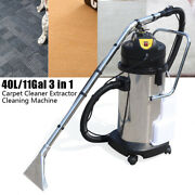 40l Household Cleaning Machine Handheld Dust Cleaner Carpet Sofa Curtain Cleaer