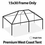 West Coast Tent Frame Only 15x30 Commercial Anodized Aluminum Replacement Frame