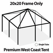 West Coast Tent Frame Only 20x20 Commercial Anodized Aluminum Replacement Frame