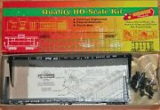 Roundhouse 13001 60' Bulkhead Flat Car Kit Twinpack Canadian Pacific Cp 317419