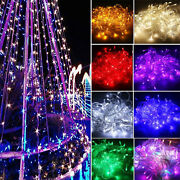 100/200/300/400 Tree String Party Light Fairy Lamp Wedding Party Deco Waterproof