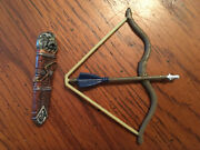 Chronicles Of Narnia Black Dwarf Bow And Quiver Hasbro For 6 Figures
