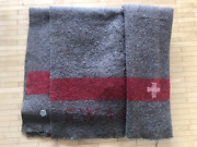 Wwii Swiss Army Wool Blanket Made In 1944