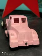 Vintage 1950's Toy Truck ''pobeda'' Wind Up Ussr Soviet Cccp Plastic For Parts