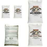 40 Lbs. Bags Premium Hickory Smoking Pellets And Black Cherry Pellets