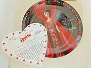 Barbie Queen Of Hearts Limited Edition Jc Penney Collector Plate 2017 Year