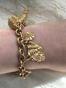 Beautiful Vintage French Agatha Bracelet - Sea Shells - Ideal For The Beach