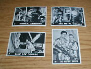 Vintage 1966 Lost In Space Lot Of 4 S 792224andnbsp Andnbsptopps Trading Cards