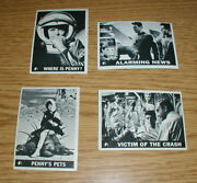 Vintage 1966 Lost In Space Lot Of 4 S 23293536andnbsp Andnbsptopps Trading Cards