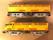 Aristocraft G Scale Art-22005 And Art-2055b Up Fa1 Ab Diesels Both Powered No Box