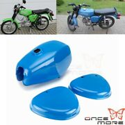 Motorcycle Steel Gas Tank With Side Covers Fuel Tank Set For Simson S50 S51 S70