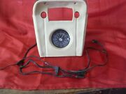 1968 Cougar Xr7 Console Rallye Clock Bezel Pad W Clock And Wiring Harness 68