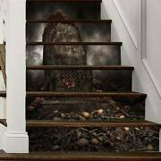 Horrible 3d Stairs Stickers Removable Wall Decals Wallpaper Home Decoration Us